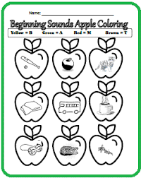 Apple Packet Printables Theme Unit