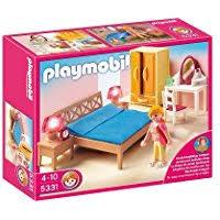 Playmobil 5319 La Maison Traditionnelle Parents Chambre Amazon Fr Chambre Parents Playmobil Jeux Et Jouets