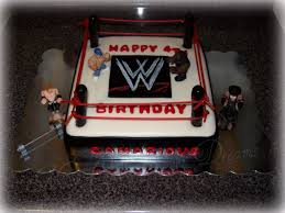 Wwe Cake Decorations Uk by My Cake Sweet Dreams