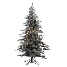 Artificial Silvertip Christmas Tree by 7 5 U0027 Pre Lit Norfolk Pine Artificial Christmas Tree Clear Lights