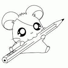Coloring Pages Of Animals New Cute Printable Free Kawaii Animal 15