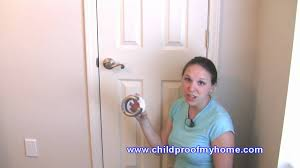 Childproofing Your Home Door Safety Lever Handle Lock