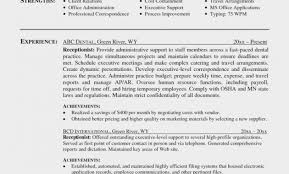 Sample Resume For Receptionist In Law Firm Refrence