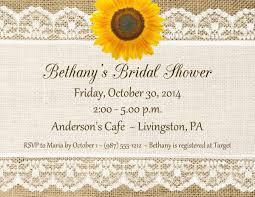 Lace And Burlap Invitations Bridal Shower Rustic Ba Postcard Invitation Template