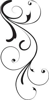 Stock Vector Black Swirl Op X Image 46KB 640x1299