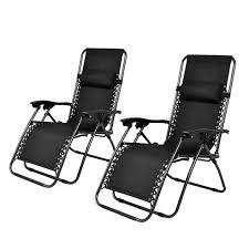 Reclining Camping Chairs Ebay by Amazon Com Giantex 2pc Zero Gravity Chairs Lounge Patio Folding