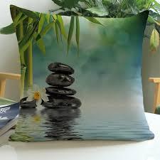 pouf galet pas cher housse de coussin zen achat vente housse de coussin zen pas