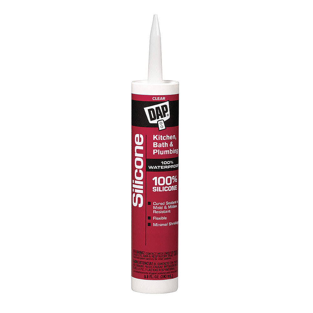 Dap Kitchen & Bath Silicone Sealant - Clear