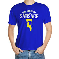 may i suggest the sausage rude printed mens funny t shirts all