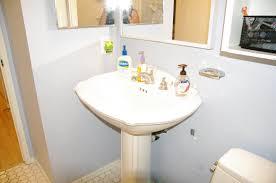 Pedestal Sink Storage Solutions by The Diy Bathroom Remodel
