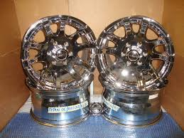 100 Helo Truck Wheels 17x9 Chrome HE804 Guns