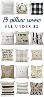 Gorgeous And Inexpensive Neutral Farmhouse Pillow Covers DecorFarmhouse StyleRustic