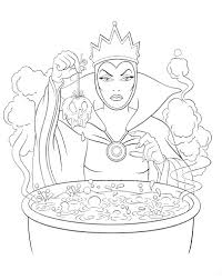 Awesome Disney Villain Coloring Pages Cool Color Ideas For You