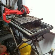 husky tile saw thd950l find more husky 7 tile saw with laser and stand for sale at