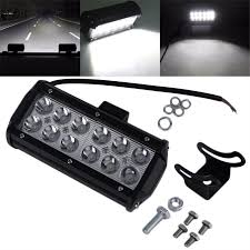 7 36W LED Work Light Bar SPOT Beam Off Road Driving - TechParts 1pcs Ultra Bright Bar For Led Light Truck Work 20 Inch Dc12v 24v Led Truck Tail Light Bar Emergency Signal Work Yescomusa 24 120w 7d Led Spot Flood Combo Beam Ip68 100w Cree Lamp Trailer Off Road 4wd 27w 12v Fo End 11222018 252 Pm China Actortrucksuvuatv Offroad Yintatech 28 180w 2x Tractor Lights Worklight Lamp 4inch 18w 40w Nsl04b40w Trucklite 81335c 81 Series Pimeter Flush Mount 4x2 Trucklites Signalstat Line Now Offers White Auxiliary Lighting