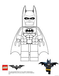 Batman Lego Movie Coloring Pages