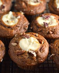 Cake Mix And Pumpkin Puree Muffins pumpkin cream cheese muffins friday is cake night
