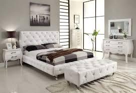 BedroomsBlack Leather Bedroom Set Black And White Ideas Italian Modern Furniture