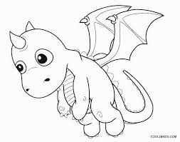 Amazing Baby Dragon Coloring Pages Cool Ideas