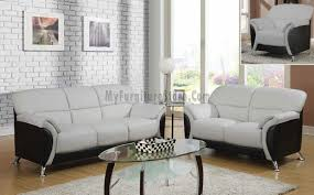 u9103 contemporary living room set by global furniture light grey