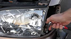 how to remove a lexus ls400 headlight