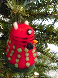 Dalek Christmas Tree Topper by I U0027d Like Cheese On My Entire Family December 2013