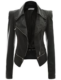 fashionable leather jackets for women new daily fashion