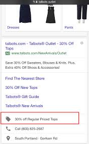 Google Testing New Promotion Extension In Text Ads - Search ... 50 Off Talbots Coupons Promo Discount Codes Wethriftcom Dealigg Coupons Helpers Chrome The Perfect Cropchambray Top Savings Deals Blogs Dudley Stephens New Releases Coupon Code Kelly In The City Batteries Plus Coupon Code Discount 30 Off Entire Purchase Store Macys 2018 Chase 125 Dollars