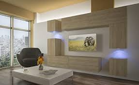 furnitech wohnwand prag n5 mediawand möbel wohnzimmer