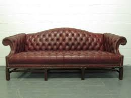 chesterfield leather sofa chippendale style chesterfield leather
