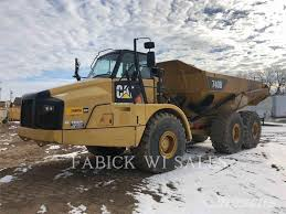 100 Madison Truck Sales Caterpillar 740B For Sale WI Price US 369000 Year 2013