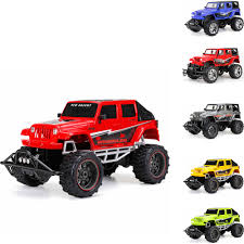 New Bright 1:8 Radio Control Full-Function 9.6V 4-Door Jeep (Blue ...