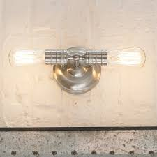 minimalist edison 2 light sconce shades of light