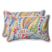 Pillow Perfect Outdoor Ummi Multi Rectangular Throw Set Of 2