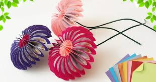 Zyma Easy Paper Craft Origami Flowers