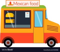 100 Food Truck Trailer Truck Trailer Royalty Free Vector Image VectorStock