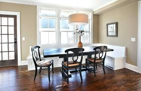 Built In Bench Seating For Dining Room Bright Banquette Contemporary With