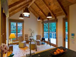 Modern Rustic Cabins Interiors For Small Room
