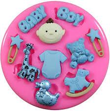 baby boy baby silikon form für kuchendeko für zuckerguss zur verzierung zuckerguss kuchen cupcakes werkzeug fairie blessings