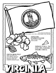 Virginia Coloring Page