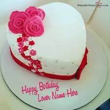 Amazing Birthday Cake Girlfriend With Name