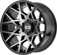 100 Cheap Black Rims For Trucks XD831 CHOPSTIX KMC Wheels