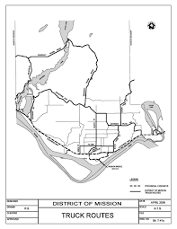 Truck Routes - District Of Mission, BC