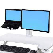 Ergotron Lx Desk Mount Lcd Arm Amazon by Ergotron 33 406 085 Workfit Tl Desktop Sit Stand Workstation