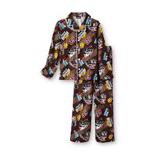 100 Monster Truck Pajamas Joe Boxer Boys Flannel S