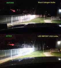 which led or hid work and don t work in 2010 2013 reflector type