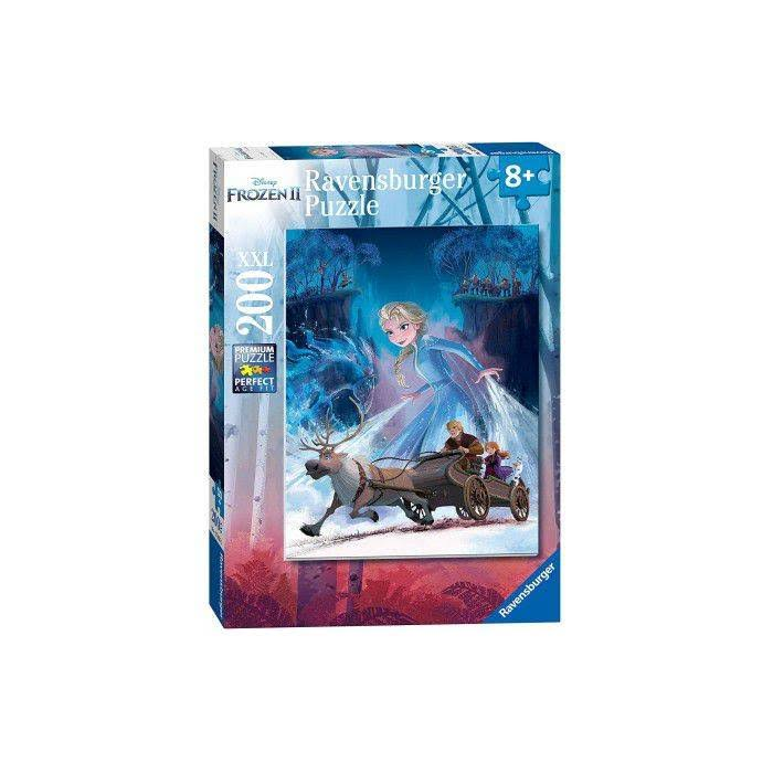Frozen 2: Mysterious Forest 200-Piece Puzzle