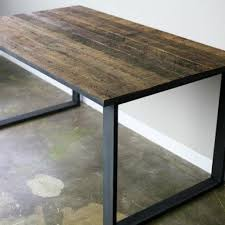 Old Wood Dining Room Table by Buy A Hand Made Modern Industrial Dining Table Desk Reclaimed