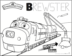 Chuggington Coloring Pages Go Digital with US c5c a