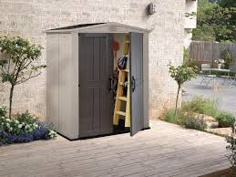 Keter Woodland High Storage Shed by 6 X 3 Lawn Garden Pool Or Patio Storage Shed